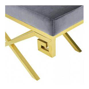 Пуф Gold greek, серый
