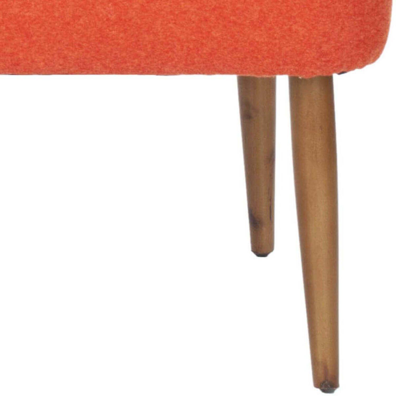 Банкетка Levi Bench, оранжевая