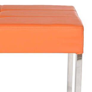 Банкетка Marc, оранжевая
