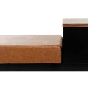Скамья Maruka с ящиком для хранения, рыжая