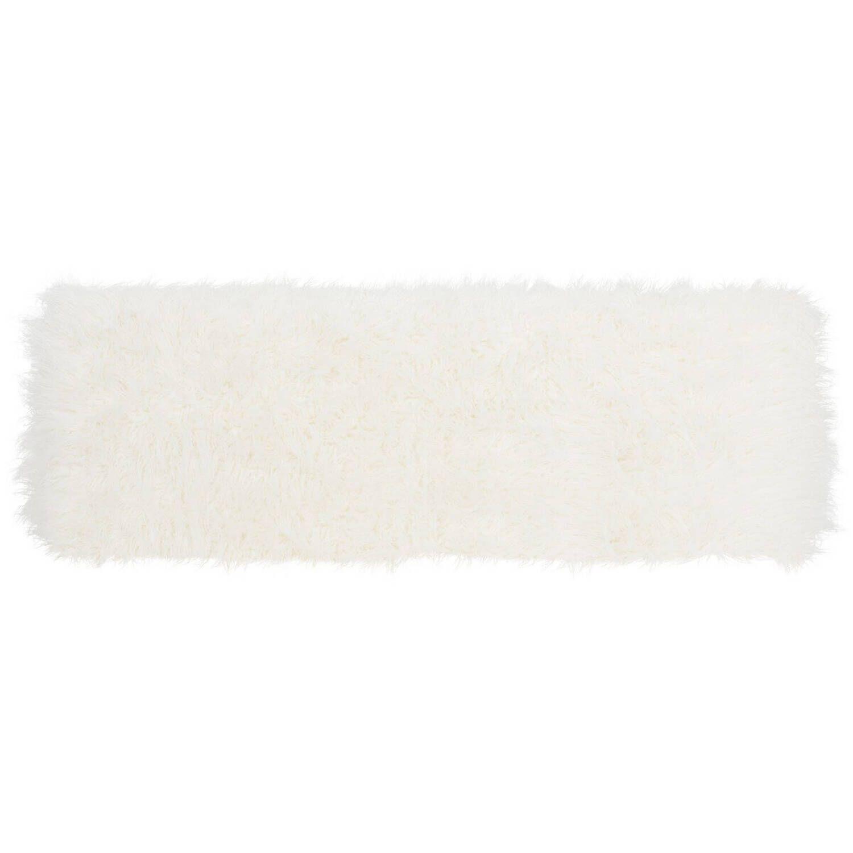 Дизайнерская белая банкетка Mera
