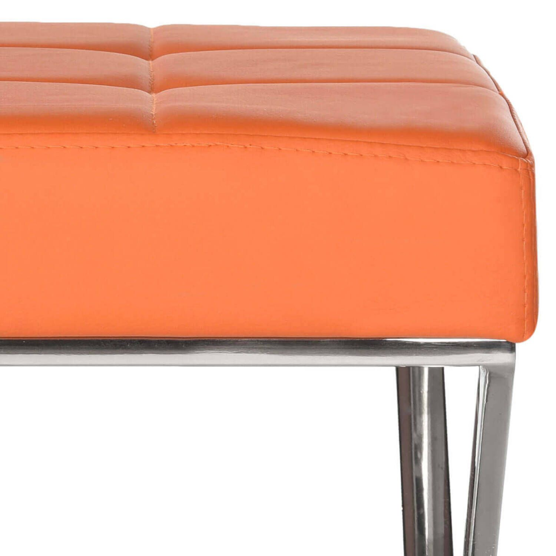 Банкетка Michigan , оранжевая