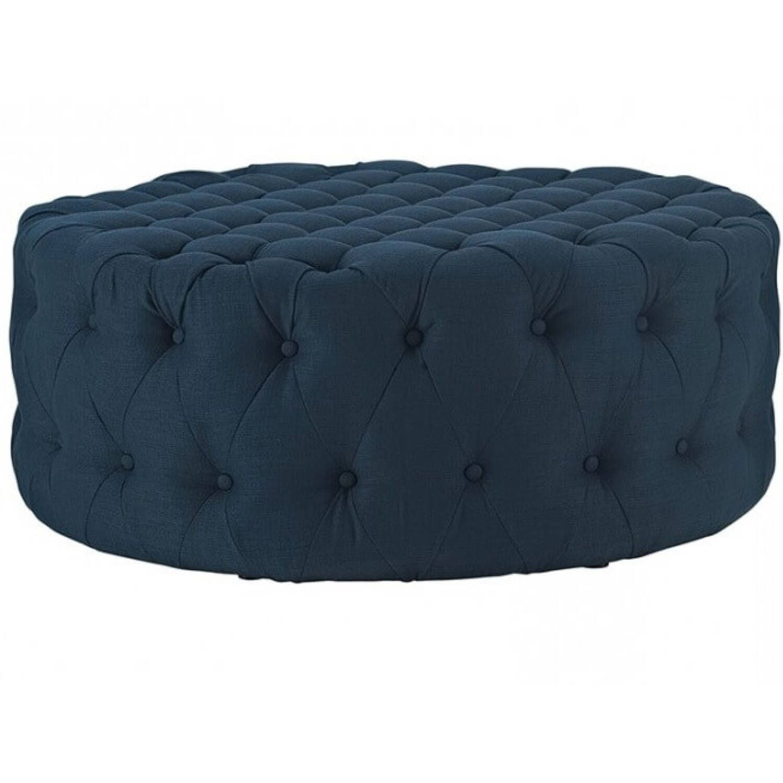 Пуф Ottoman coffee table, синий