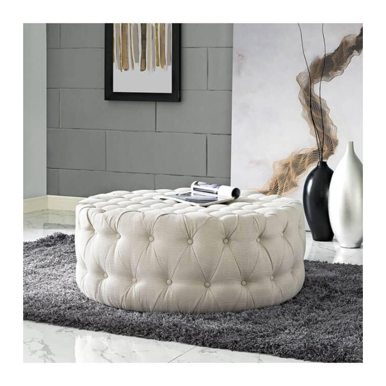 Пуф Ottoman coffee table, белый