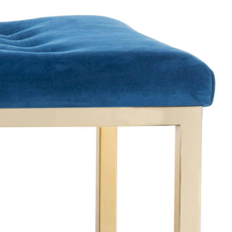 Дизайнерская синяя банкетка Reynolds