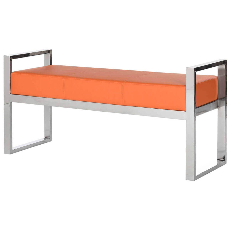 Банкетка Slade , оранжевая