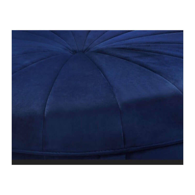 Пуф Baby Blue Velvet Large, синий