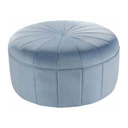 Пуф Baby Blue Velvet Large, голубой