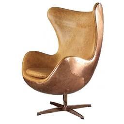 Кресло Egg Aviator Copper, светло-коричневое