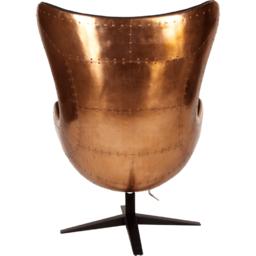 Кресло Egg Aviator Copper, черное