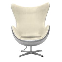 Кресло Egg Aviator, белое