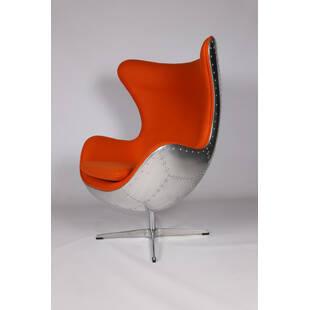 Кресло Egg Aviator, оранжевое