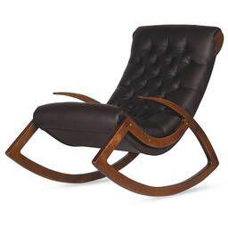 Кресло-качалка Данди, черное