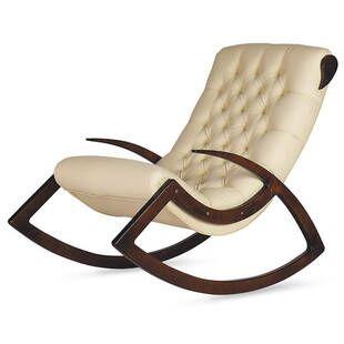 Кресло-качалка Данди, бежевое