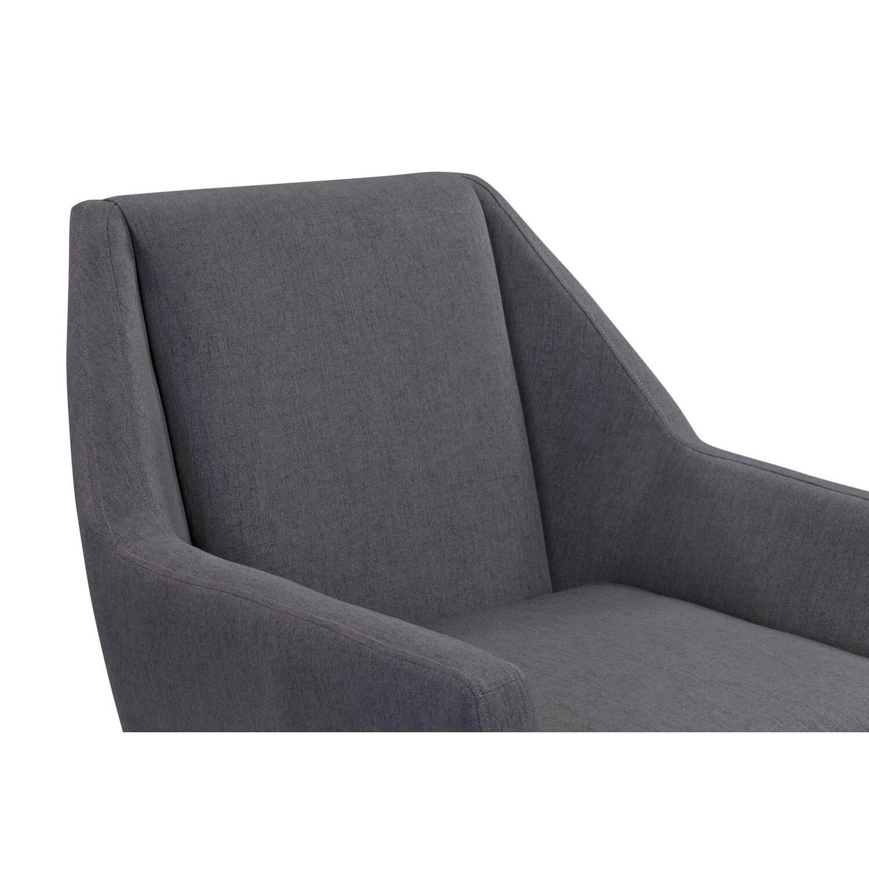 Кресло Angle, серое