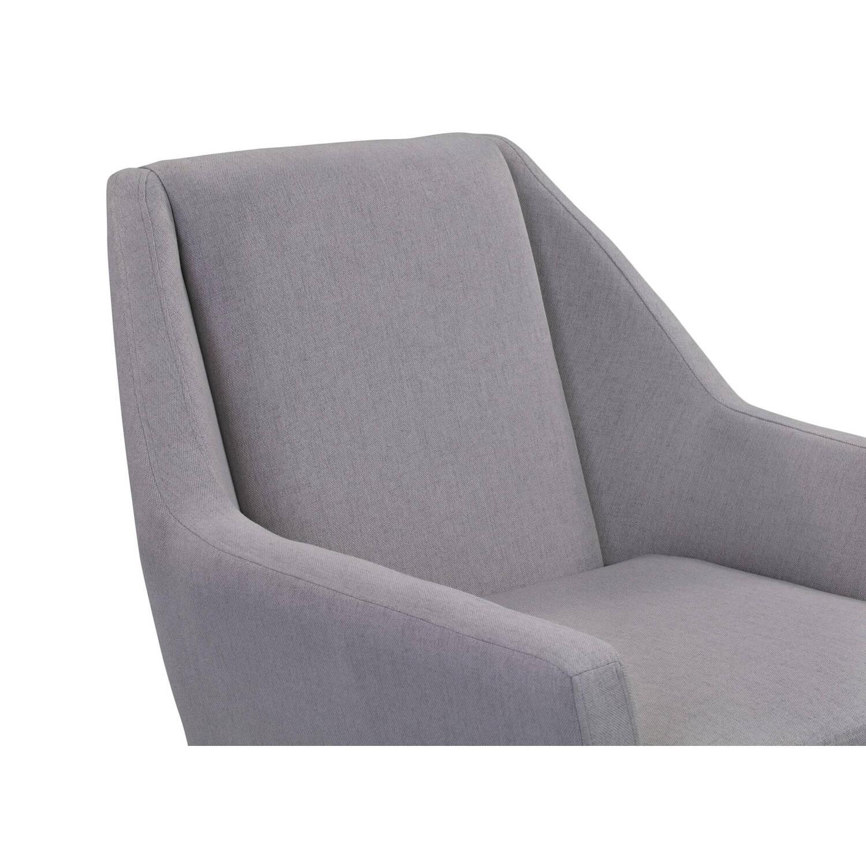 Кресло Angle, светло-серое
