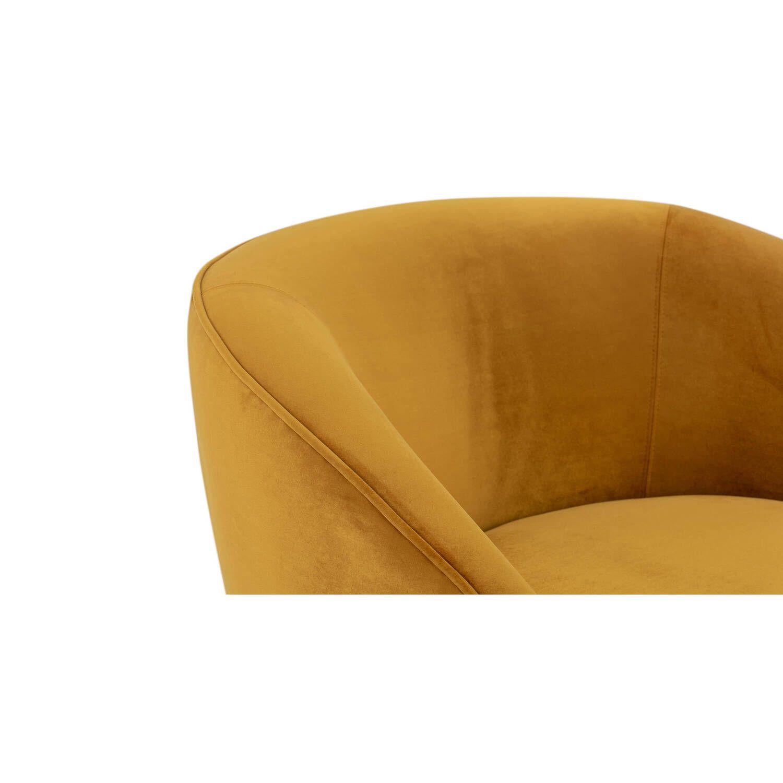 Кресло Aria, желтое