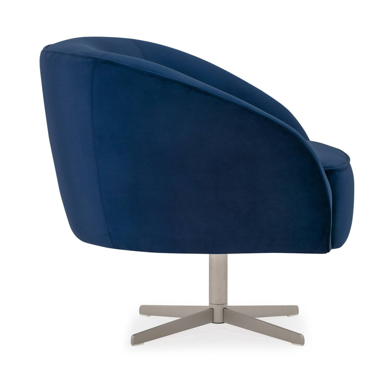 Вращающееся кресло Aria, синее