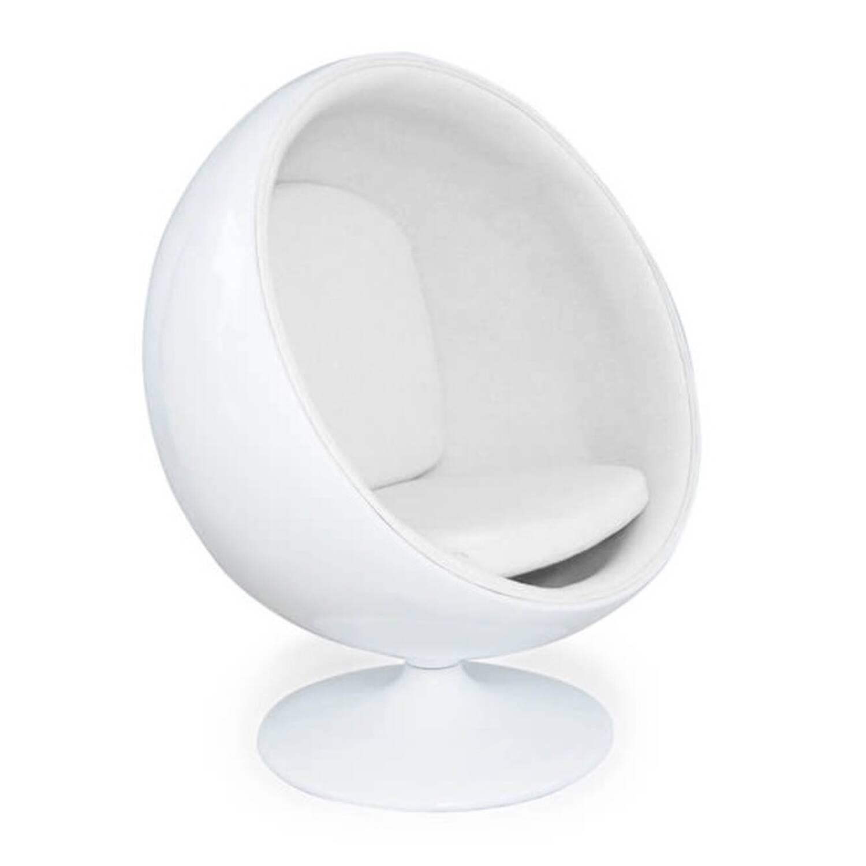Кресло Шар Ball Chair белое