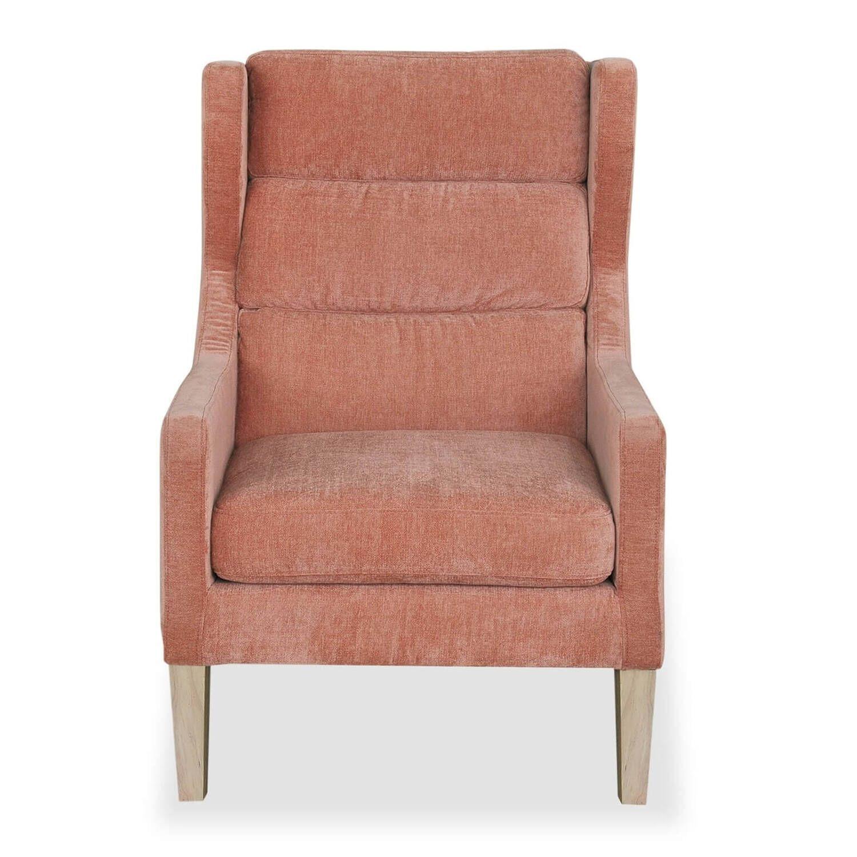 Кресло Borge, розовое