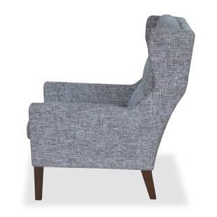 Кресло Borge, серое