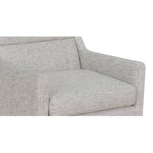 Кресло Borge, светло-серое