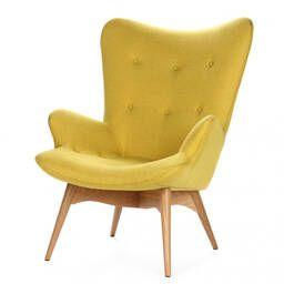 Кресло Contour желтое