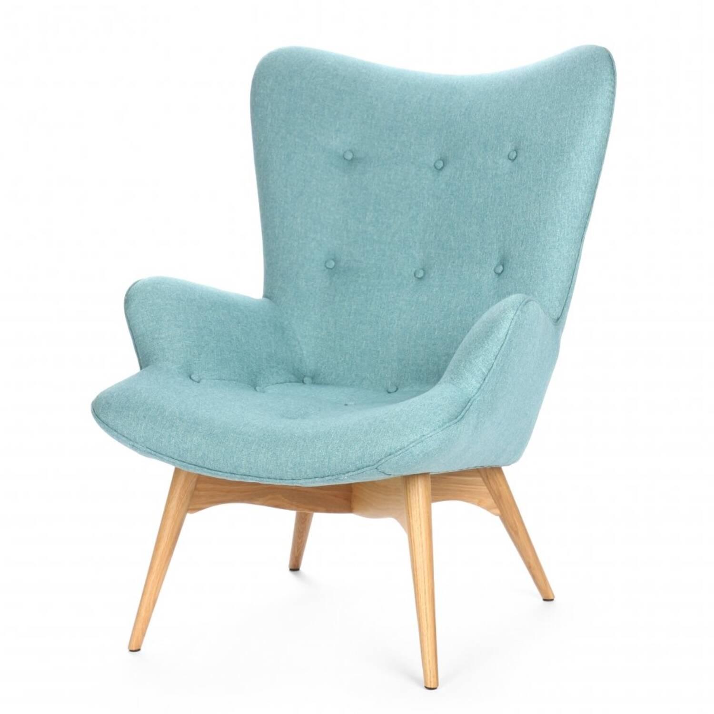 Кресло Contour голубое