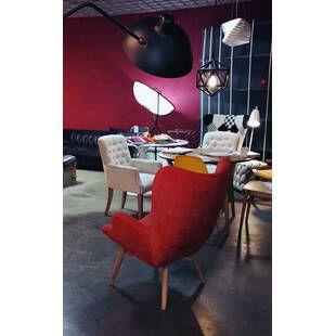 Кресло Contour красное