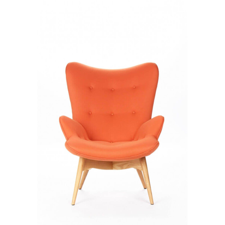 Оранжевое кресло для отдыха Contour