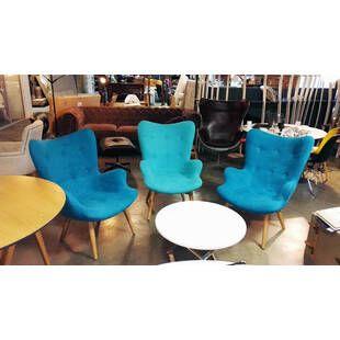 Кресло Contour синее