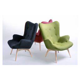Зеленое кресло для отдыха Contour