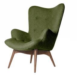 Кресло Contour зеленое