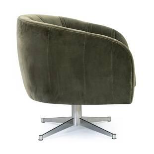 Кресло Crescent, зеленое