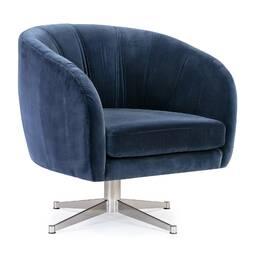 Кресло Crescent, синее