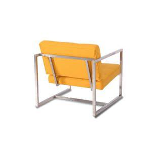 Кресло Cube желтое