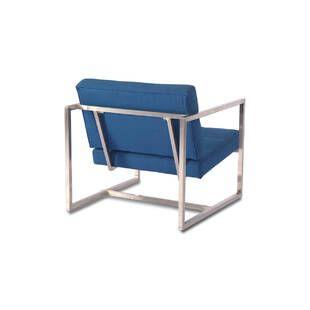 Кресло Cube синее