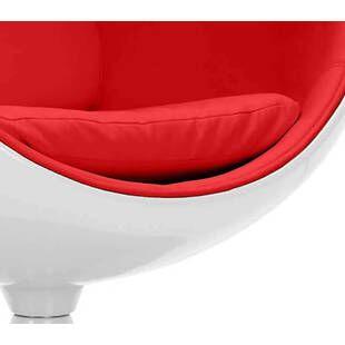 Eero Aarnio Egg Chair бело-красное