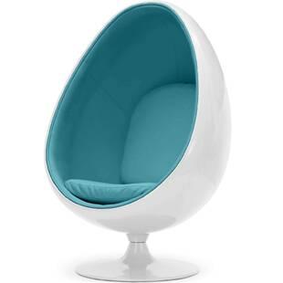 Eero Aarnio Egg Chair бело-синее
