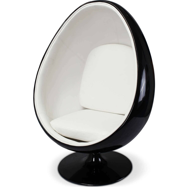 Eero Aarnio Egg Chair черно-белое купить