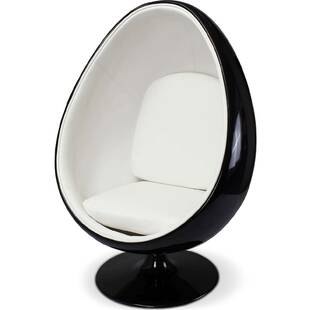 Eero Aarnio Egg Chair черно-белое