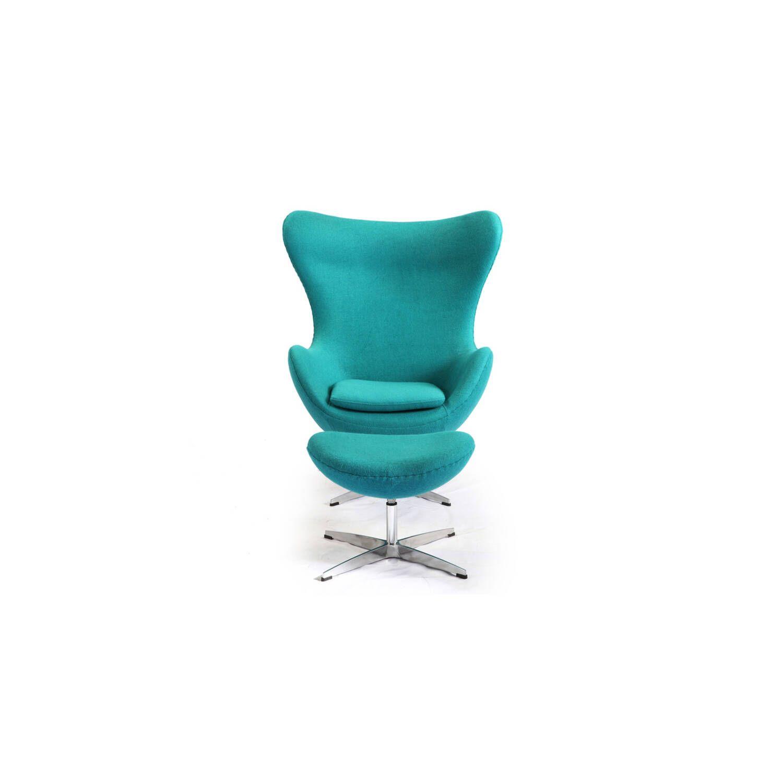 Бирюзовое кресло Egg купить
