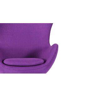 Фиолетовое кресло Egg