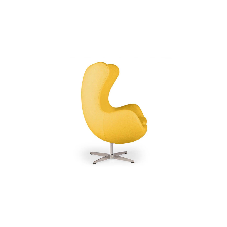 Желтое кресло Egg