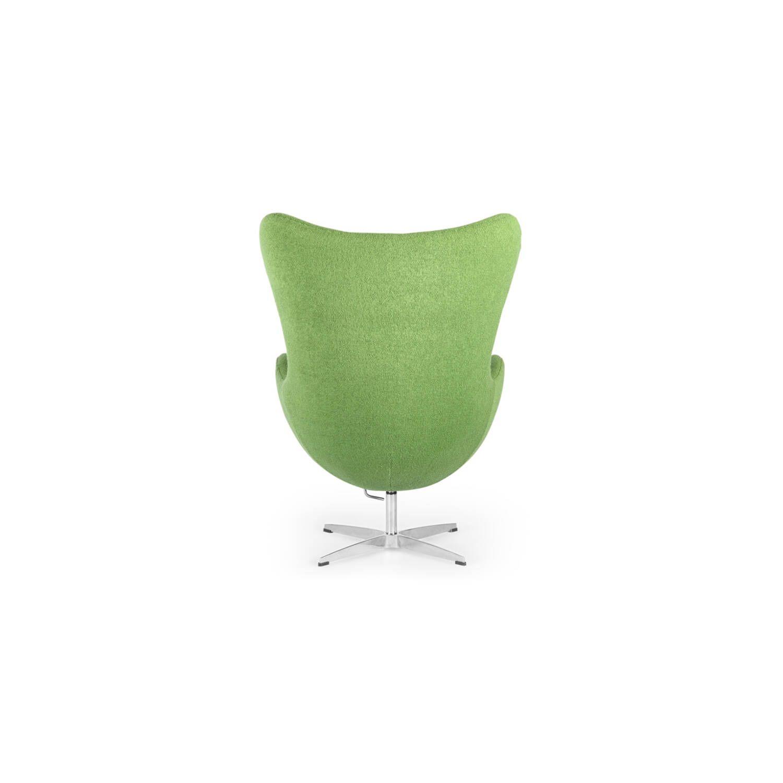 Зеленое кресло Egg