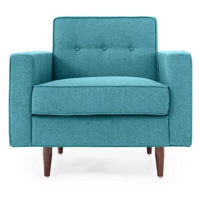 Кресло Eleanor, бирюзовое