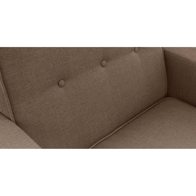 Коричневое кресло Eleanor