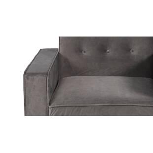 Кресло Eleanor, серый вельвет