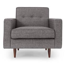 Серое кресло Eleanor