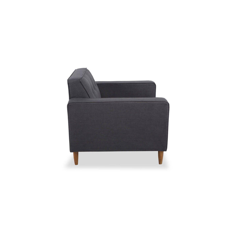 Кресло Eleanor, сине-серое